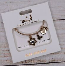 NEW Alex and Ani Disney Christmas Mickey Mouse Snowflake Rose Gold Bracelet