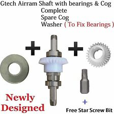 GTECH AirRam Vacuum Cleaners Complete Drive Cog Shaft Spindle & Bearings