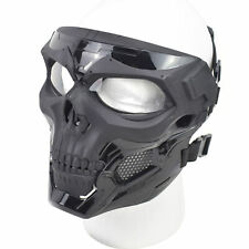 Skull Tactical Airsoft Mask Paintball Military CS Full Face Helmet