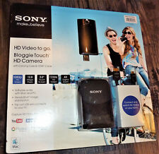 Sony Bloggie Touch HD Video Camera MHS-TS10 NIB Sealed w/ carrying case & HDMI
