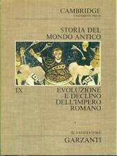 EVOLUZIONE E DECLINO DELL'IMPERO ROMANO  AA.VV. GARZANTI LIBRI 1974