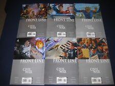 Civil War: Front Line 1-11 (2006-2007) Avengers Iron Man Marvel Comics