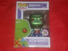 Funko Pop! Heroes Martian Manhunter #18 (Metallic) SDCC 2011 LE 480 PCS