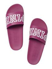 Victoria Secret Pink NEW! Single Strap Slide Color Berry NWT Sz Medium