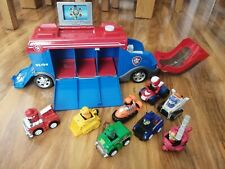 Paw Patrol Mission Cruiser With 8 Vehicles and Pups