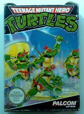 TURTLES MUTANT les TORTUES NINJA jeu avec boite cartouche NES NINTENDO testé PAL