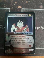 2000 Dragonball Z TCG: Saiyan Saga Foil #122 Yajirobe's Energy Attack Card LP