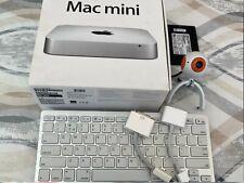 """Apple Mac Mini i5 2.5 2012 LG 22""""Screen Keyboard Cam 16GB RAM 192Gb SSD 512GbHD"""