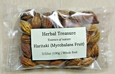 100gm Whole Inknut - Badi Harad - Haritaki - Himej - Myrobalans Fruit 3.52 OZ