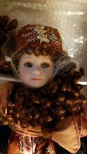 "Mundia ""NINA"" Porcelain Doll-Christine et Cecile  MInt NIB"