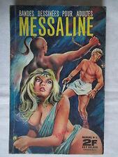 MESSALINE 3  EDITIONS DE POCHE 1967 TRES RARE