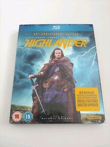 Highlander (Blu-ray) Christopher Lambert, Sean Connery, Clancy Brown (Region B)