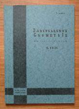 Pumann: Darstellende Geometrie für Ingenieurschulen; 1. Teil; 1963
