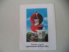 advertising Pubblicità 1979 AMARO CARPANO PUNT E MES