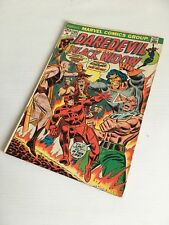 DAREDEVIL N. 105 AND THE BLACK WIDOW MARVEL COMICS 1973 ORIGINAL USA GRADE 5.5