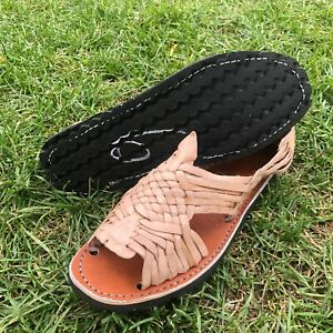 Men's Pachuco Open-Toed Sandals Huarache de Correa Mexicano