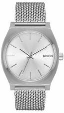 Nixon Time Teller Milanese All Silver Watch A1187 1920 / A1187-1920 / A11871920