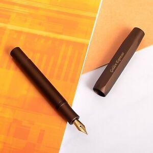 Kaweco AL Sport Golden Espresso Fountain Pen