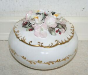 Royal Crown Derby, Queen Mother's 90th Birthday Bone China Pot. Good Cond. RARE