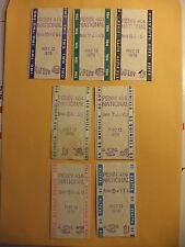 PENN NATIONAL RACE TRACK VINTAGE 1978 WAGER TICKETS $50 WIN + DAILY DOUBLE +