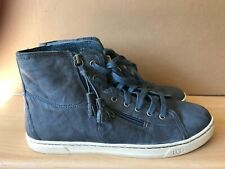Womens UGG Australia Blaney Blue Leather Shoes UK 8 EUR 40.5 - Model 1009885