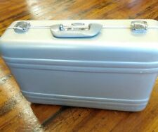 "Zero Halliburton Elite Aluminum Case Briefcase Luggage 21"" Nice"