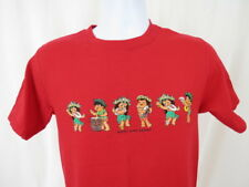 Kids Boys T Shirt Size Small Hawaii Red Happy Time