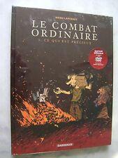 Manu LARCENET - Le combat ordinaire 3 - Ce qui est précieux - EO TL + DVD