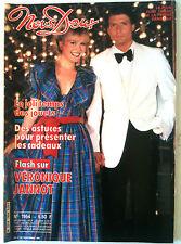 Nous-Deux n°1954; Véronique Jannot-Thierry Lhermitte/ Yves Robert