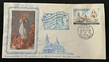 First Day Cover Inauguration Manila Cathedral Philippines 1958 Embossed Rare ?