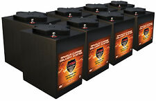6Volt Golf Cart Batteries QTY8, 48V AGM 6 Volt 225AH VMAX MB6 Maint free 6V
