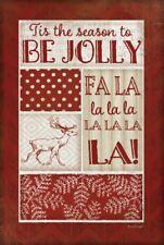 ID 3932644 FA La Llama Animal Christmas Holiday Yellow Illustration Canvas Art