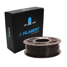 yourDroid PLA Filament Schwarz Black 1.75mm 1kg Spule 3D-Drucker