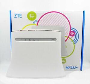 ZTE Router MF283+ 800/1800/2600MHz 4G 2G 3G LTE 150Mbps SMA ANTENNA UNLOCKED