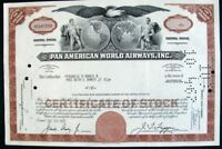 USA 1927 Pan American World Airways 5 Shares Bond Loan Stock Certificate
