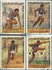 Mauretanien 652-655 (kompl.Ausgabe) gestempelt 1979 Olymp. Sommerspiele, Moskau