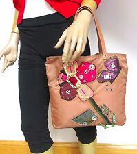 Prada BAG Nylon Applique Handbag -100% Authentic