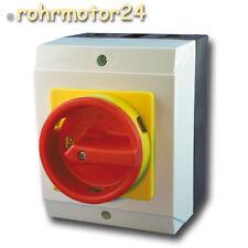 Hauptschalter Reparaturschalter Aufbauschalter Motorschalter Aufputz Tor Antrieb