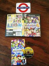 💥Mario Party 4 GameCube Ottima Edizione Italiana Completa Di Manuale