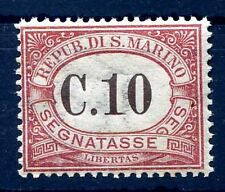 SAN MARINO 1924 -  SEGNATASSE  CENT. 10   NUOVO  **