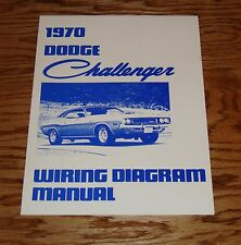 1970 Dodge Challenger Wiring Diagram Manual 70
