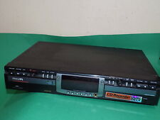 PHILIPS Compact Disc Recorder hifi Separate CD DUAL DECK Black CDR779 FAULTY