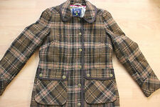 boden  check tweed wool   jacket size 8   NEW