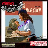 MENG ES-006 1/35 U.S.MEDIUM TANK M4A3 [76]W SHERMAN VICTORY KISS LIMITED EDITION