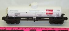 Lionel New 68075 Allied Chemicals die-cast tank car whi