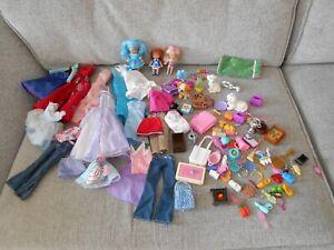 BARBIE DOLL BUNDLE OF CLOTHES & ACCESSORIES
