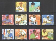 SINGAPORE 2013 VANISHING TRADES 1ST SERIES ORIGINAL PRINT (2013A) 10 STAMPS MINT