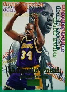 Shaquille O'Neal subset card Double Trouble 1996-97 Skybox #274