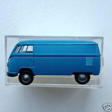 Brekina 3200 1:87 HO scale 1950's Volkswagen Transporter Van - blue