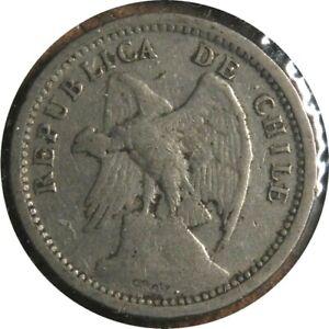 elf Chile 20 Centavos 1932  Defiant  Condor